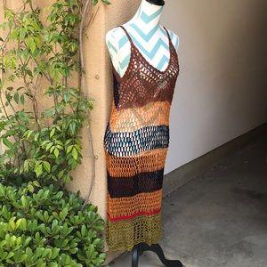 Zara Crochet Cover up Dress